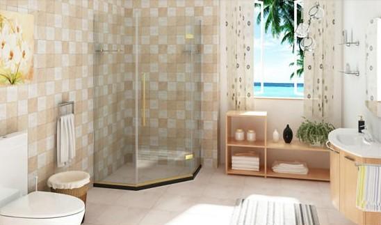 欧式淋浴房墙砖材质贴图