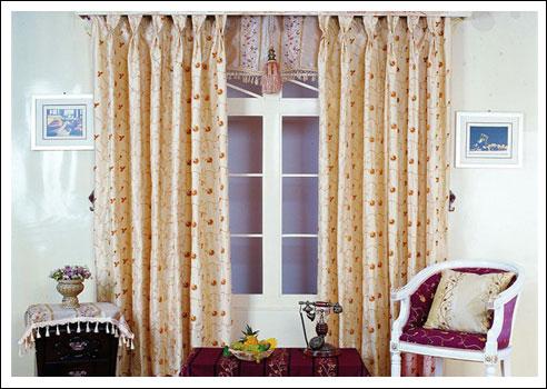 2013欧式窗帘装修效果图