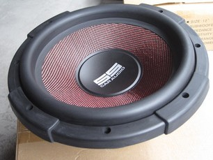 汽车音响出口产品优质外单12寸低音炮材料扎实低音有力
