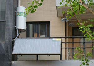 建筑一体化:太阳能热水器应加大技术创新