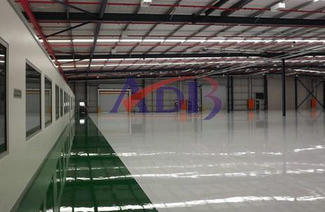 澳地邦地坪:住商钢铁制品(香港)有限公司项目完工