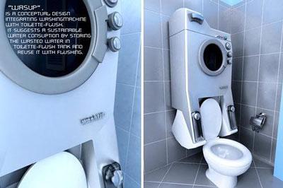 环保洗衣机两全其美――节水省电+锻炼