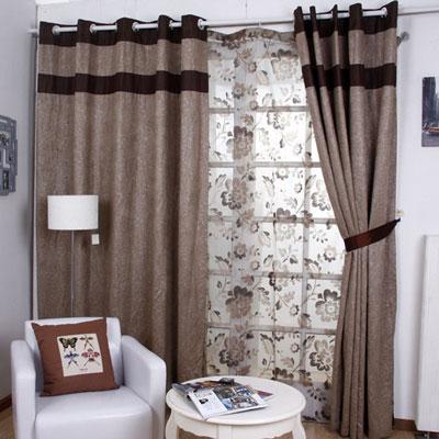 纯色窗帘你喜欢吗?