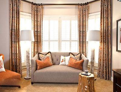 客厅窗帘效果图你喜欢哪种风格?