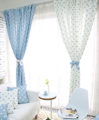 适合白领公寓的窗帘