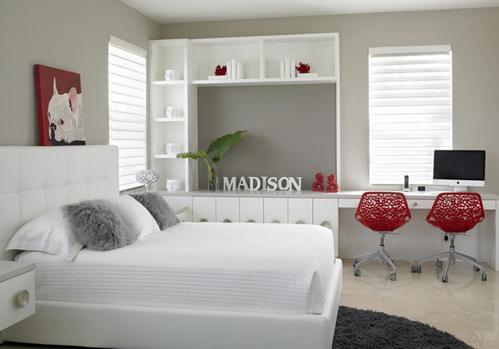 2013卧室壁柜装修效果图