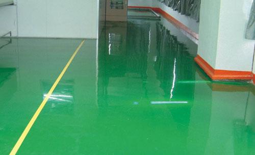 环氧地坪漆对填料的吸附性和黏结情况分析