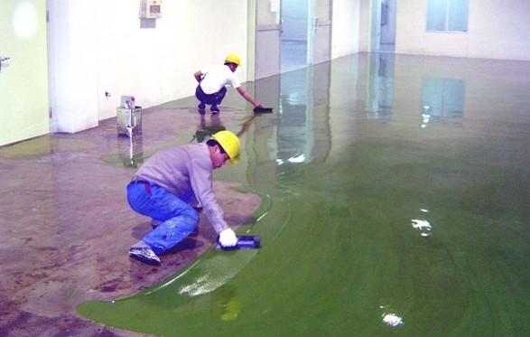 环氧地坪漆中助剂的使用可以预防缺陷