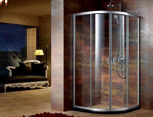 淋浴房隔断 家庭淋浴房隔断效果图