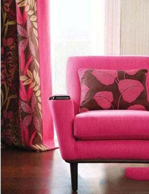暖色系窗帘给生活添加正能量