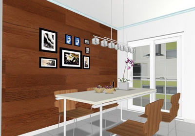 如何选用木质墙面的材料?