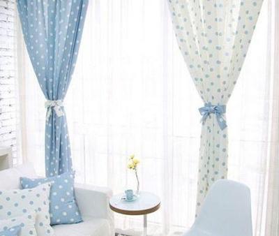 个性窗帘设计 打造夏季小清新