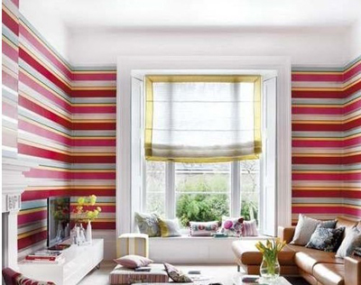 这款欧式飘窗窗帘效果图,很适合那些喜欢简单的业主.