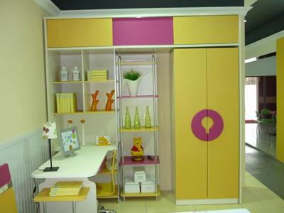 二胎政策刺激儿童衣柜大商机