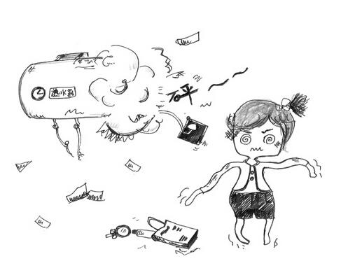家具爆炸图手绘