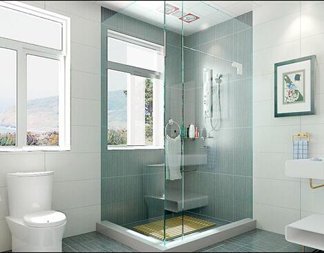 淋浴房装修效果图 卫生间淋浴房效果图