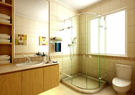淋浴房装修效果图卫间淋浴房效果图