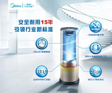 美的空气能热水器工作原理-中国建材家居网