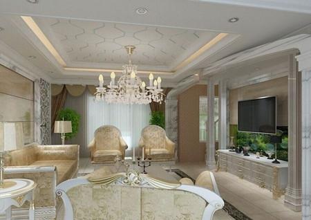 最新家居装修客厅灯饰效果图