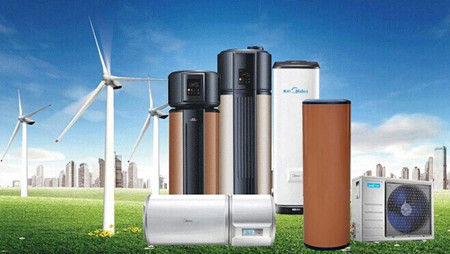 美的空气能热水器1度电在家泡温泉