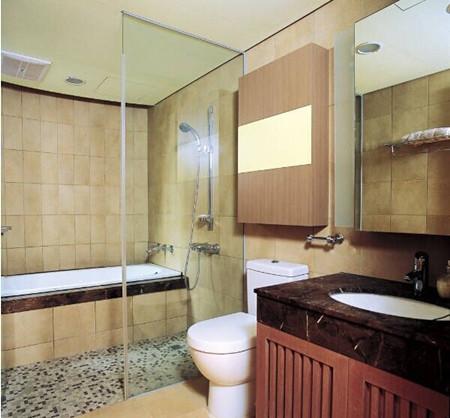 家庭室内浴室设计图