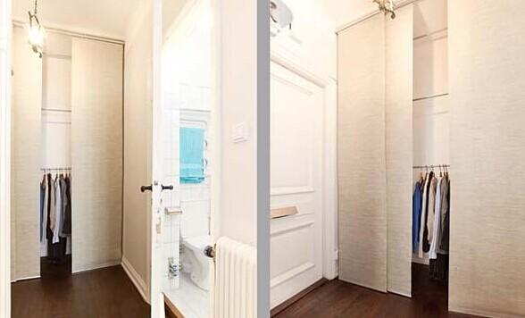 衣柜厕所设计效果图