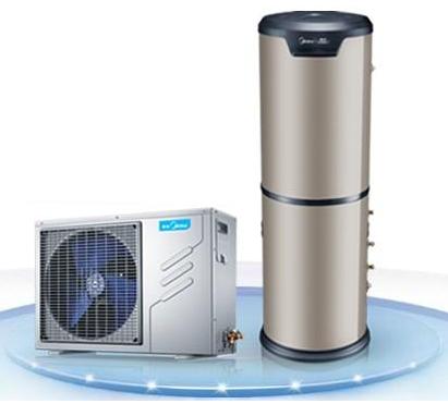 美的空气能机组运行特点:安全+环保+节能