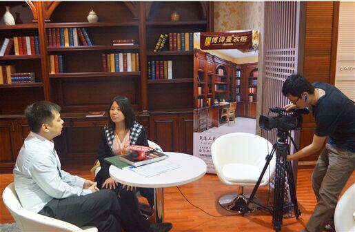 名人对话:第五届广州衣柜展专访博诗曼市场部总监朱智鹏