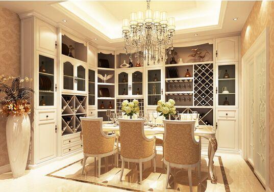 """白色家具搭配不同颜色地板表现不同的""""个性"""""""