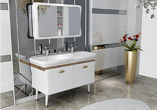 实力造就品质 安华卫浴新品浴室柜亮相上海厨卫展