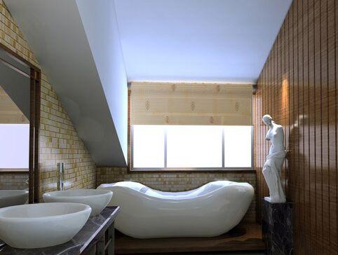 浴室装饰材料如何选购最具有视觉效果