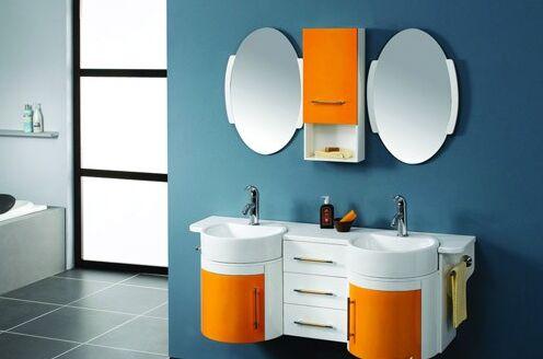 """如何打造浴室柜让其看似如""""铜墙铁壁""""那样耐用"""