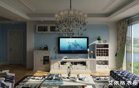 客厅电视背景墙设计材料-----木材