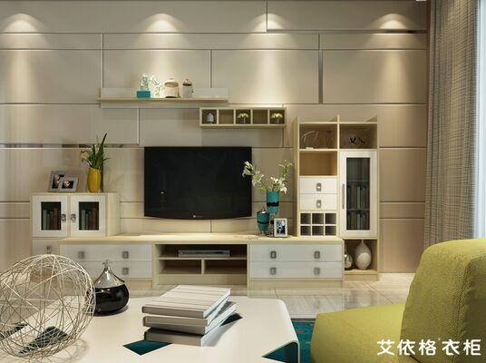客厅电视背景墙设计材料-----瓷砖