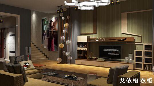 【中国建材家居网】客厅电视背景墙设计主要就是两块,一个是背景墙体的硬装,另一个是电视柜的软装。设计师设计过的客厅,有些是毛坯的,需要给整体设计。有些是带装修的,需要根据他的装修来设计搭配软装。设计师建议,找艾依格设计师免费设计的时候,前期毛坯房就可以设计了,我们可以帮您整体设计的。如果你先设计好硬装再设计软装也可以,但是软装都只能配合硬装进行,有了一定的局限性。 那么不同的背景材料做出来是什么效果?搭配电视柜要怎么设计?如果户型有些异形要怎么设计呢?下面中国十大衣柜品牌小编通过涂料、墙纸、瓷砖、石材、木材