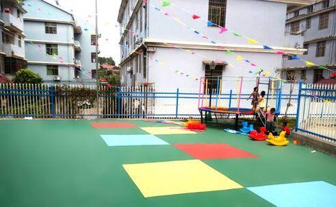 孩之宝地板:幼儿园装修首选PVC儿童地板 室内室外增加儿童活动乐趣