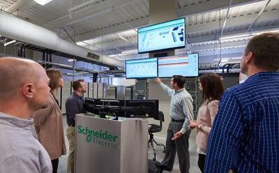 施耐德电气圣路易斯技术中心: 连接数据中心现实与未来
