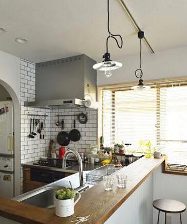 日式风格厨房装修 在高压工作中感受质朴生活