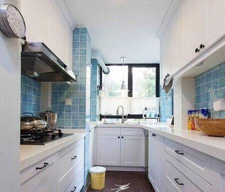 轻美式风格厨房装修案例介绍