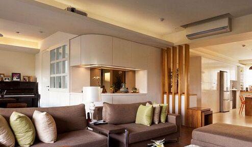 现代简约单身公寓家装厨房设计案例欣赏