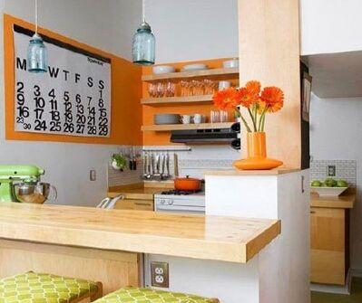 开放式厨房设计,中岛台充满发挥空间