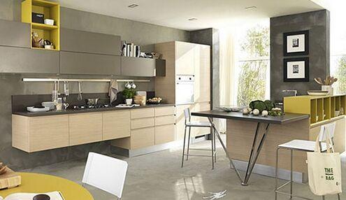 工业风厨房装修 展现个性厨房风格 (495x286)-工业风格厨房