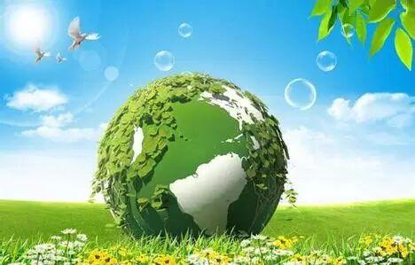空气绿化矢量图