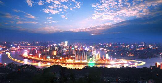 四川成都城市照明开启智能化管理模式