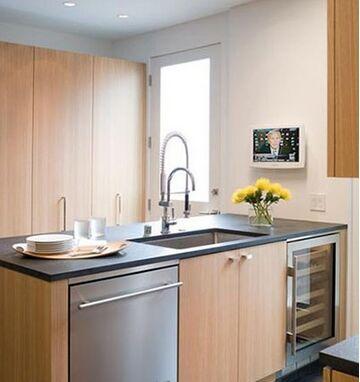 半岛橱柜台:小户型厨房装修最佳选择