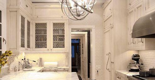 半岛橱柜台 小户型厨房装修最佳选择
