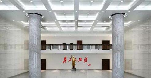 杜威漆中标祁阳县公安局新办公大楼内装涂料
