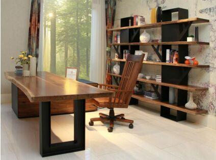 百强家具:美国黑胡桃实木家具的沉稳大气之感