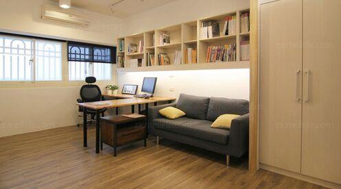 创意家庭办公室装修设计效果图