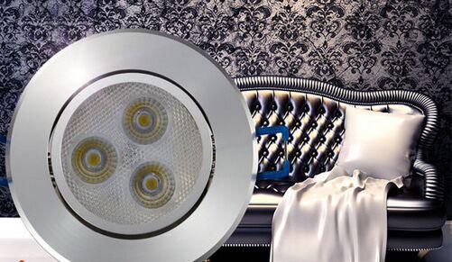 筒灯安装示意图,筒灯安装间距设置